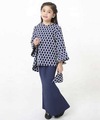 baju kurung moden untuk konvokesyen 4 gaya baju raya kanak kanak perempuan 2017 islalisa