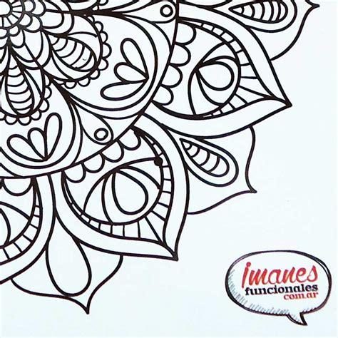 imagenes de mandalas florales mandala flores ii imanes funcionales