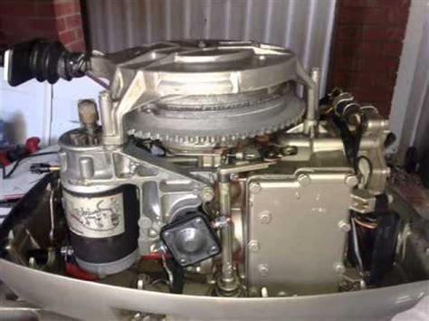 outboard motor repair denham springs la 35hp evinrude electric conversion 1978 model youtube