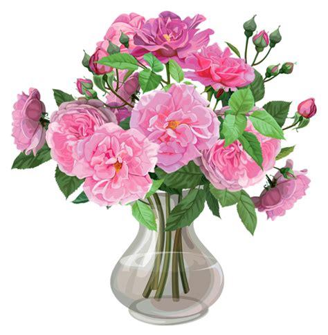 Vase Transparent by Pink Roses In Vase Transparent Png Clipart Roses For