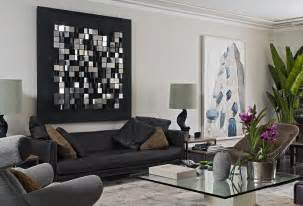 Livingroom Wall Art by Large Living Room Wall Design Ideas Room Remodel