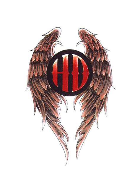 eagle wing tattoo designs eagle harley davidson studio design gallery