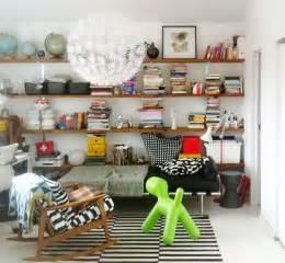 Diy Wall To Wall Bookshelves Of Bookshelves Manhattan Nest