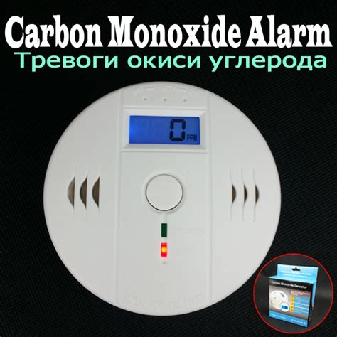 alert smoke and carbon monoxide alarm keeps going independent lcd home smoke carbon monoxide detector co gas