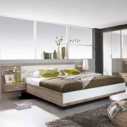 lit avec chevet integre achat vente lit