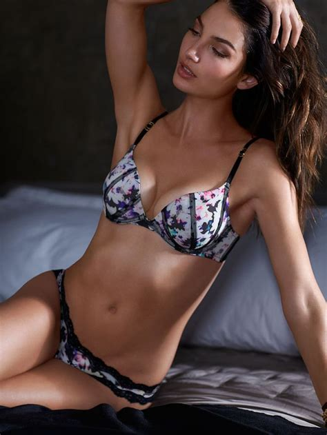 Bra Secret Possessions Push Up who says floral prints are just for s