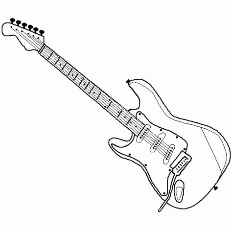 coloring pages electric guitar free coloring pages of electric guitar
