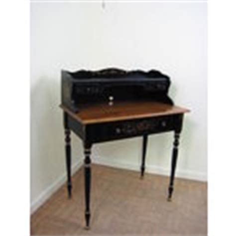 ethan allen writing desk ethan allen hitchcock painted writing desk black 05 30 2009