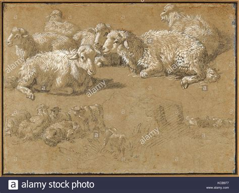 The Draftsman Drawing A Reclining by Francesco Londonio Stock Photos Francesco Londonio Stock