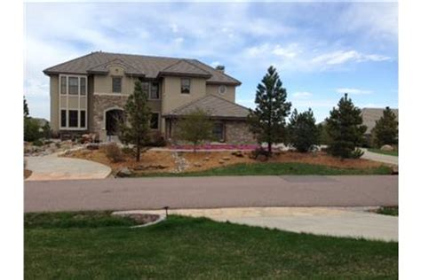 castle pines home on cul de sac in castle rock co