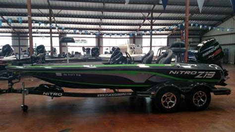 nitro bass boat dealers in alabama 2017 used nitro z19 bass boat for sale southside al