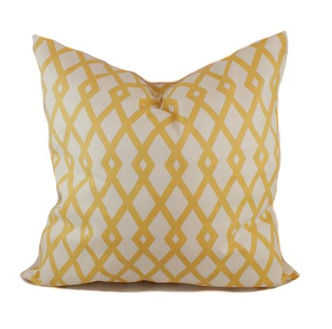 Yellow Pillows For Sofa Yellow Pillow Cover Accent Pillow Decorative Pillow Sofa
