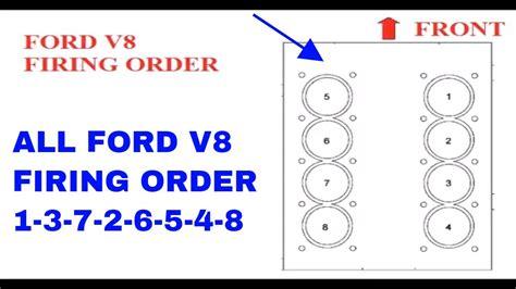 ford  firing order         youtube