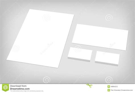 business card letterhead envelope template set of corporate identity template stock photo image