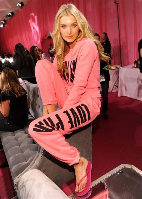Blazer Pink Pita preparation for the s secret fashion show
