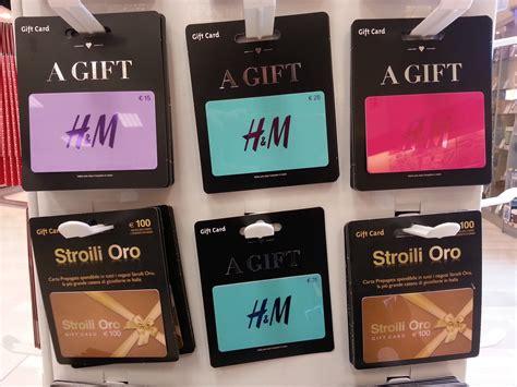 Gift Card H M - esselunga vende gift card di h m gdoweek