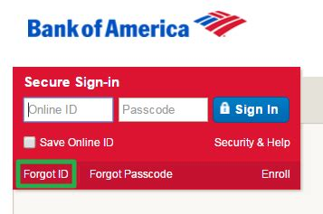 bank of america sign in bank of america banking login banklogindir