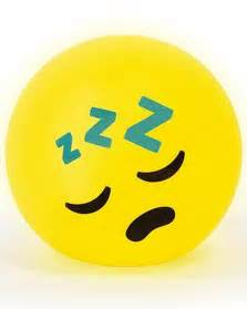 Sleeping emoji led light geeky gifts