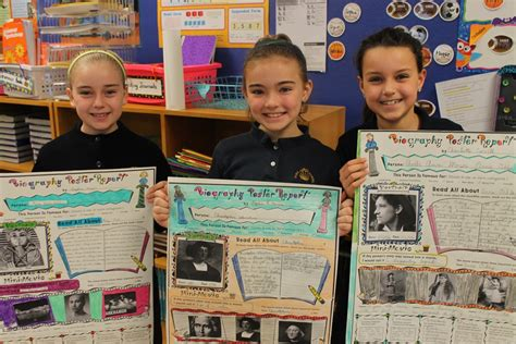 biography book 4th grade 4th graders share biography book reports