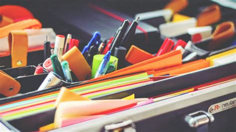 how to organize your desk at work this is how to organize your messy desk drawers at work