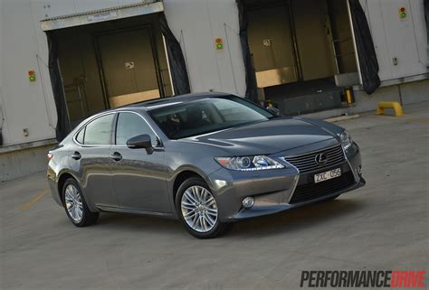 gray lexus 2014 lexus es 350 sports luxury review video