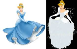 what color is cinderella s dress why is it that cinderella s dress is always portrayed as