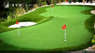 Putting Green Backyard Triyae Com Artificial Grass Backyard Putting Greens