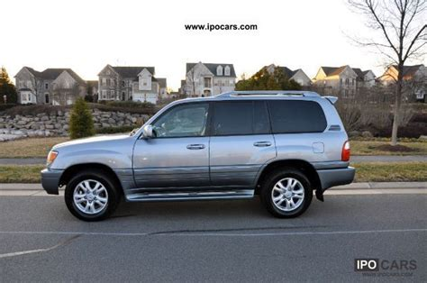 lexus truck 2004 2004 lexus lx 470 car photo and specs