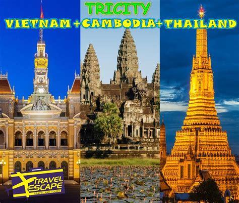 tricities thailand cambodia  vietnam travel