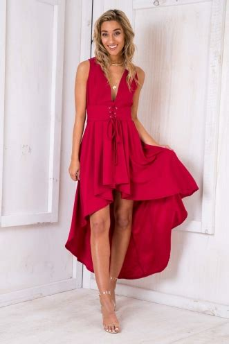 Dress Cinderella Maroon T17 dresses going out dresses s formal dresses