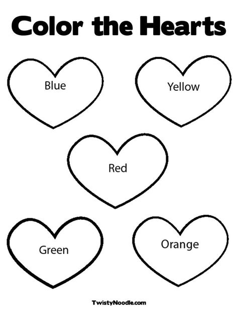 coloring pages of big hearts free coloring pages of a big heart