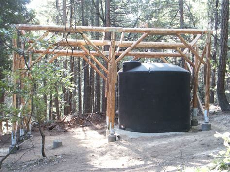 building cabin with lumber beams small cabin forum