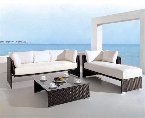 modern outdoor sofa limba signature patio sofa set modern outdoor lounge
