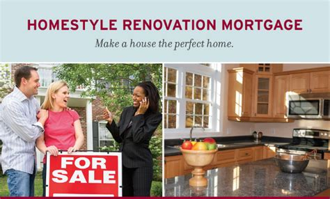 homestyle renovation loan primary secondary or