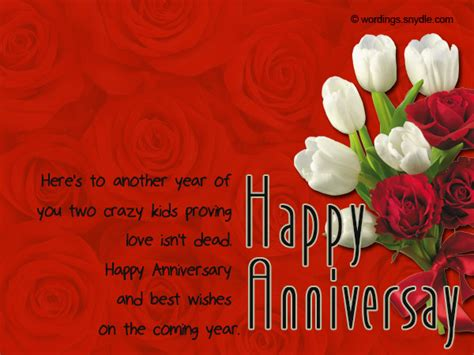 Wedding Anniversary Greetings And Messages by Wedding Anniversary Messages Wishes And Wordings