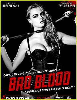 Membuat Poster Bad Blood | cara delevingne is mother chucker for bad blood video