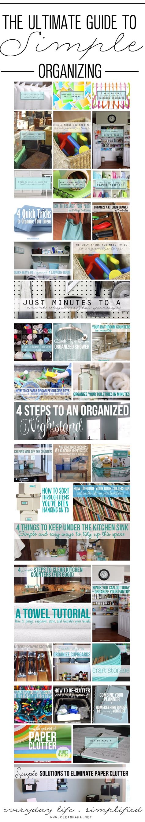 the ultimate guide to organize every room in your home 1150 ideas digsdigs the ultimate guide to simple organizing clean mama