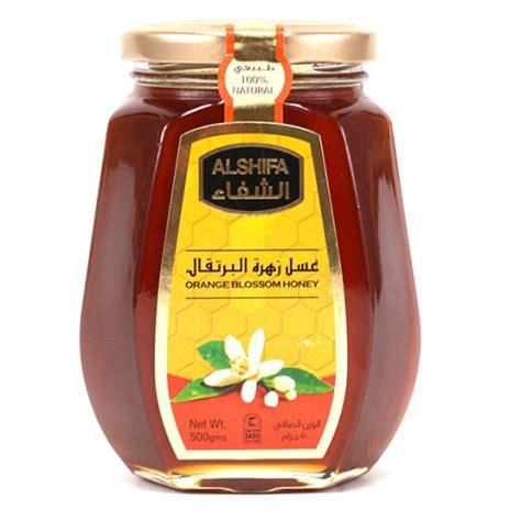 Al Shifa Honey 500 G buy al shifa orange blossom honey 500g taw9eel