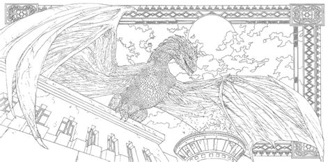 thrones coloring book colored winter is coming inside the hbo of thrones coloring