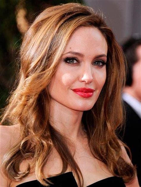 angelina jolie hairstyles 2016 pictures of angelina top hair color trends for 2016 latest ombre ideas more