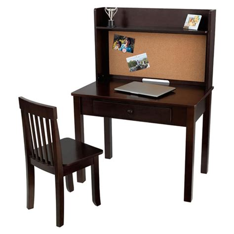 Kid Kraft Desk Kidkraft 174 Pinboard Desk With Hutch And Chair 170709 Kid S Furniture At Sportsman S Guide