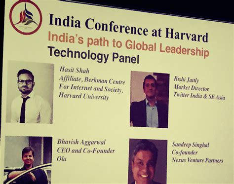 How To Get Into Harvard From India For Mba by India Conference At Harvard 2015 Graduate All
