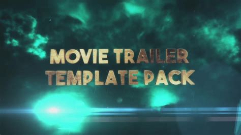 after effects trailer template tempest trailer title pack after effects template