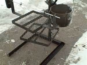 Tripod Fire Pit - portable campfire grilling stand with rotisserie youtube