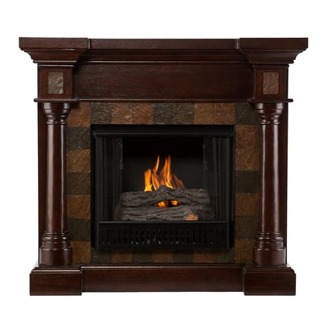 Gel Burning Fireplace by Southern Enterprises Amz8478fg Chancellor Convertible Gel Fireplace Espresso Gel