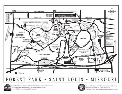 forest park map free summer attractions at forest park in 2012 travel hyper