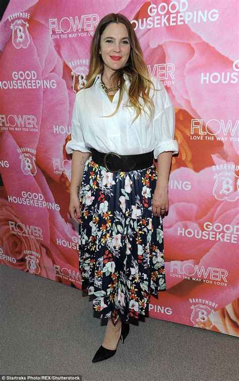 Drew Barrymore Looking Pretty On The Cover Of Janes March Issue by Drew Barrymore Looks Chic As She Celebrates