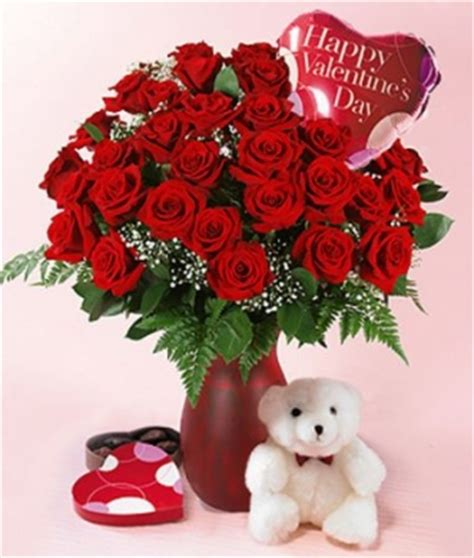 Valentines Day Flowers by Regali San Valentino Per