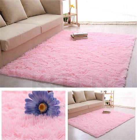 80 x 160cm bedroom floor mat fluffy blanket nonslip lounge