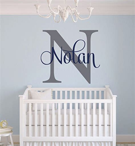 Unique Baby Boy Nursery Themes And Decor Ideas Involvery Wall Decor Baby Nursery